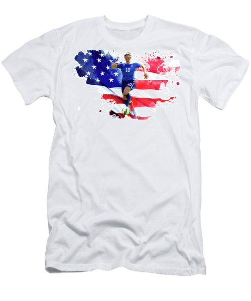 Carli Lloyd Men's T-Shirt (Slim Fit) by Semih Yurdabak