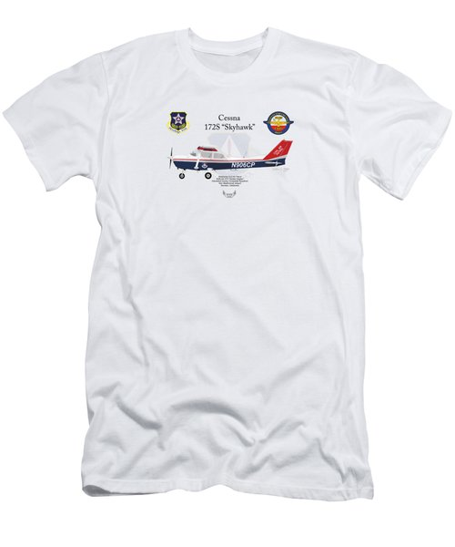 Cessna 172s Skyhawk Men's T-Shirt (Athletic Fit)