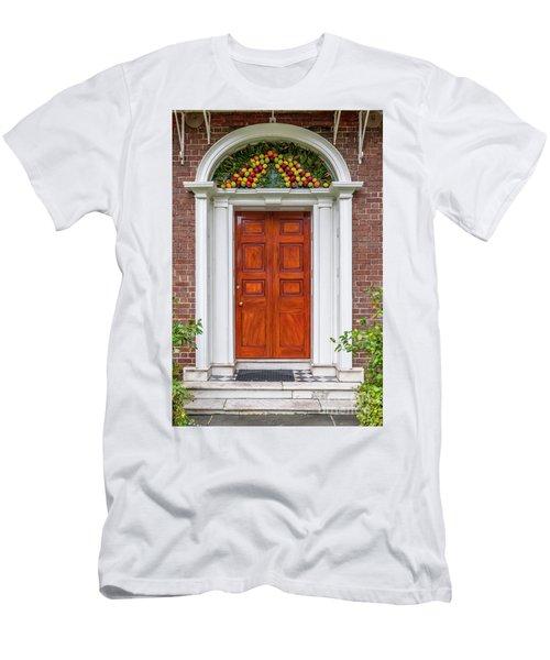 Christmas Door Men's T-Shirt (Athletic Fit)