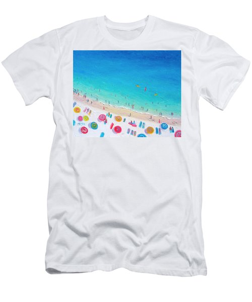 Colors Of The Beach Men's T-Shirt (Slim Fit) by Jan Matson