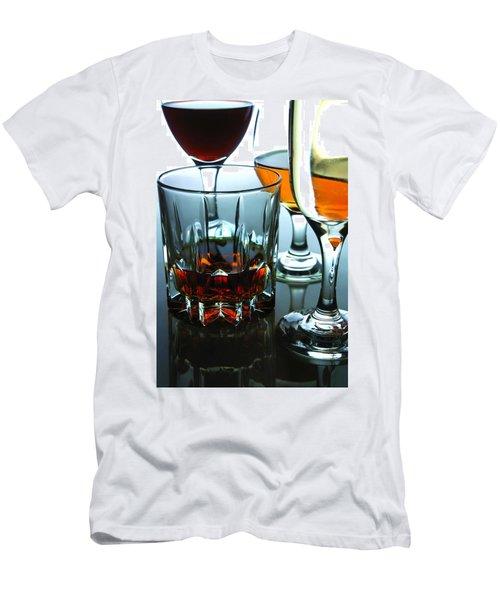 Drinks Men's T-Shirt (Slim Fit) by Jun Pinzon