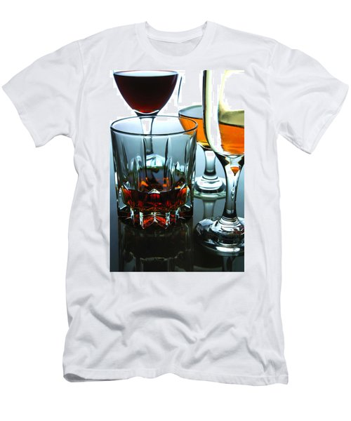 Drinks Men's T-Shirt (Athletic Fit)