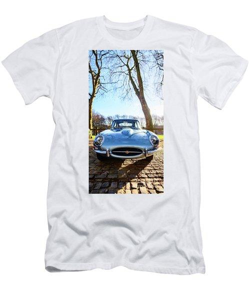 E Type Jaguar Men's T-Shirt (Athletic Fit)