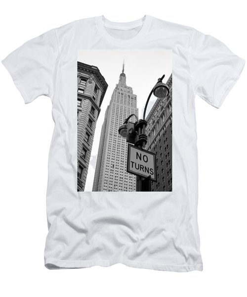 Empire State Building Men's T-Shirt (Slim Fit) by Michael Dorn