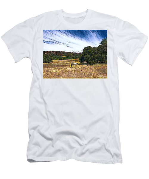 Fat Camp Grazing Men's T-Shirt (Athletic Fit)