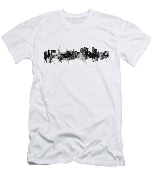 Fayetteville Arkansas Skyline Men's T-Shirt (Athletic Fit)