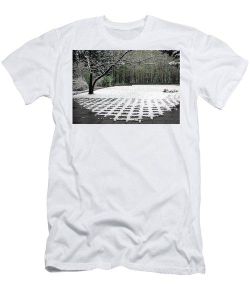 First Snow Fall Men's T-Shirt (Slim Fit) by Vladimir Kholostykh