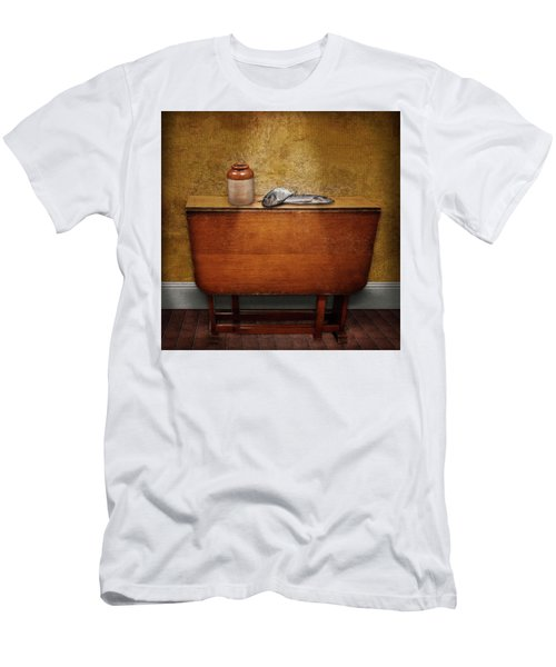 2 Fish And A Jug Men's T-Shirt (Slim Fit) by Marty Garland