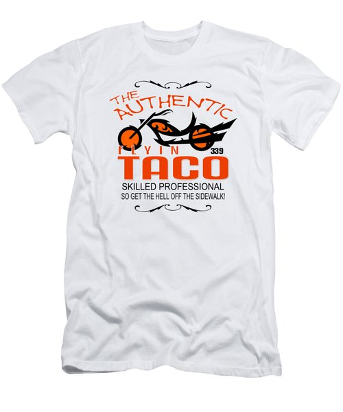 Flyin Taco Men's T-Shirt (Athletic Fit)