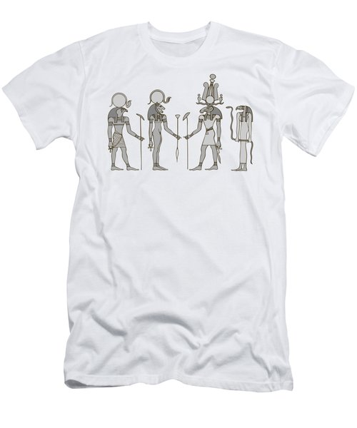Gods Of Ancient Egypt Men's T-Shirt (Athletic Fit)