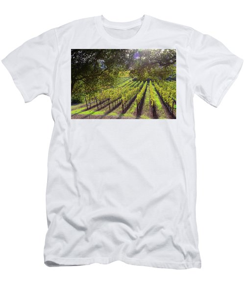 Grapevines In The Fall Men's T-Shirt (Athletic Fit)