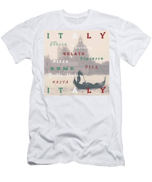 Italy Men's T-Shirt (Athletic Fit)