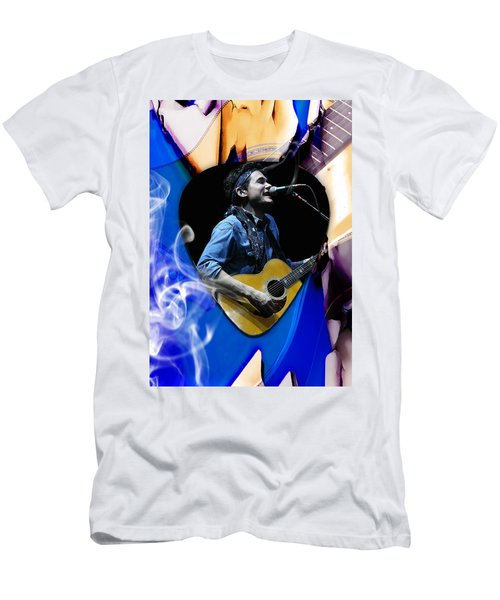 John Mayer Art Men's T-Shirt (Athletic Fit)
