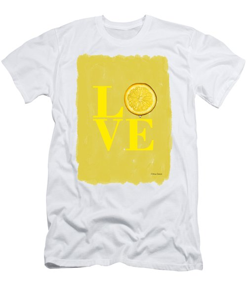 Lemon Men's T-Shirt (Slim Fit) by Mark Rogan