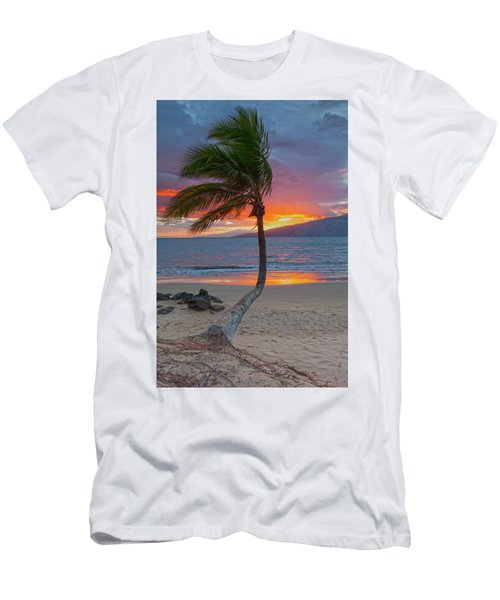 Lonely Palm Men's T-Shirt (Slim Fit) by James Roemmling