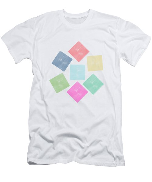 Lovely Geometric Background Men's T-Shirt (Athletic Fit)