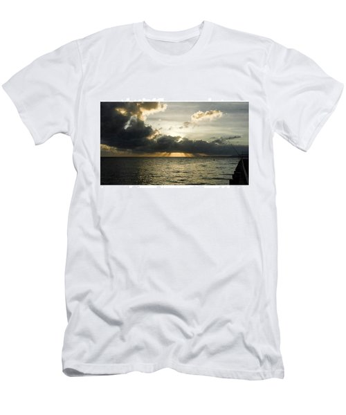 #lucinda #portoflucinda #sugarjetty Men's T-Shirt (Athletic Fit)