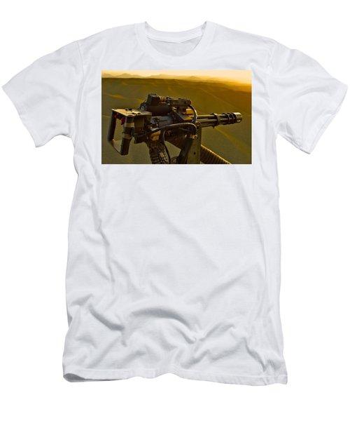 Machine Gun Men's T-Shirt (Athletic Fit)