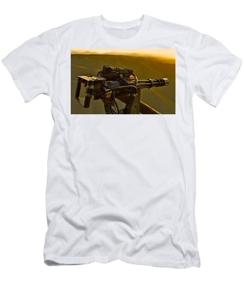 Machine Gun Men's T-Shirt (Athletic Fit)