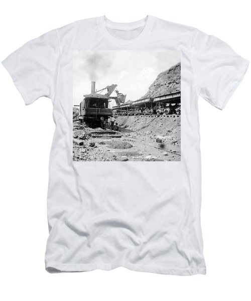 Panama Canal - Construction - C 1910 Men's T-Shirt (Athletic Fit)