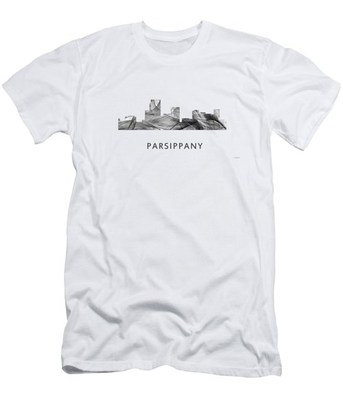 Parsippany New Jersey Skyline Men's T-Shirt (Athletic Fit)
