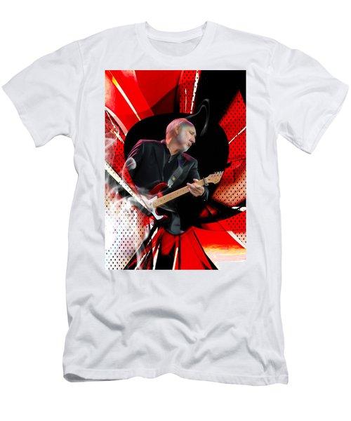 Pete Townshend Art Men's T-Shirt (Slim Fit) by Marvin Blaine