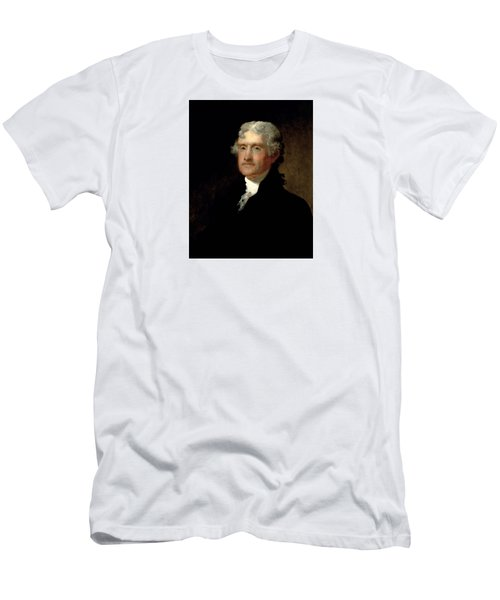 President Thomas Jefferson  Men's T-Shirt (Athletic Fit)