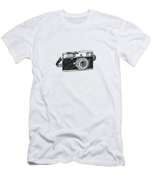 Rangefinder Camera Men's T-Shirt (Athletic Fit)