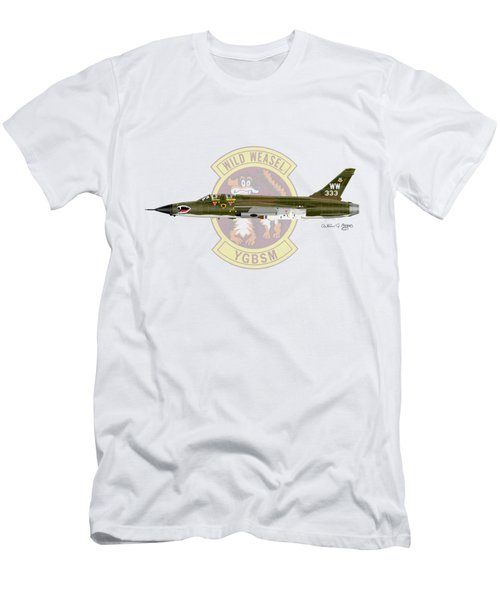 Republic F-105g Wild Weasel Men's T-Shirt (Athletic Fit)