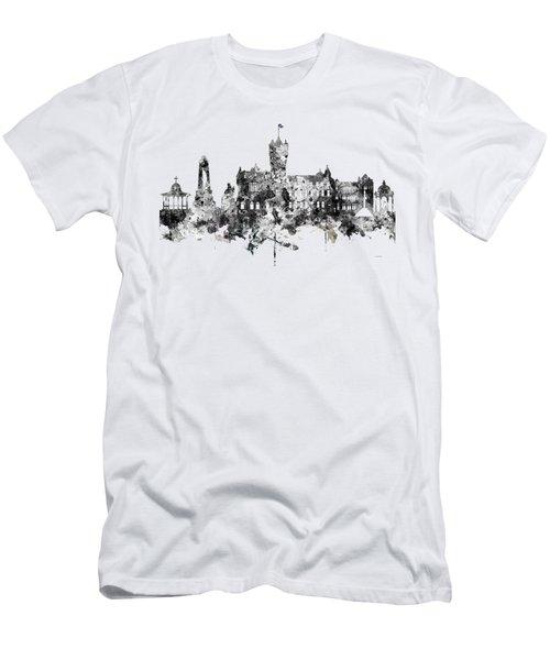 Rutherglen Scotland Skyline Men's T-Shirt (Athletic Fit)