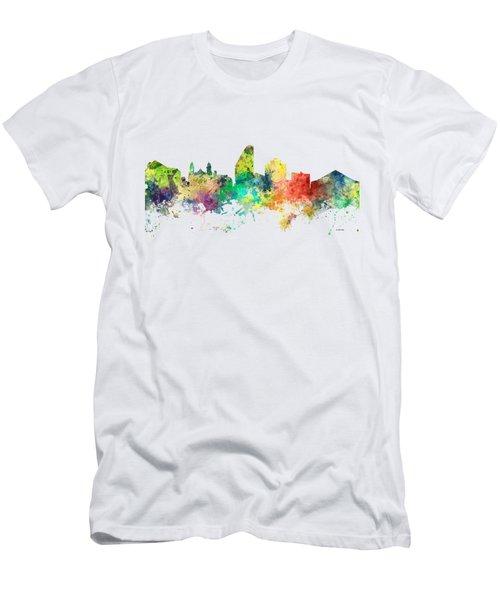 San Jose California Skyline Men's T-Shirt (Athletic Fit)