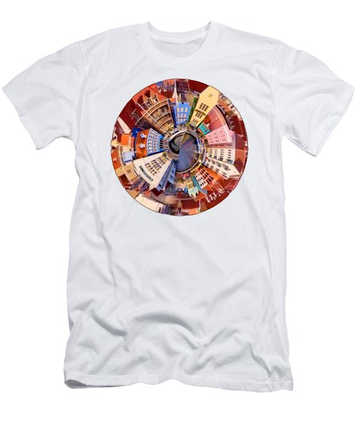 Spin City T-shirt Men's T-Shirt (Athletic Fit)