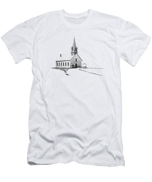 St. Olaf Lutheran Church Men's T-Shirt (Athletic Fit)