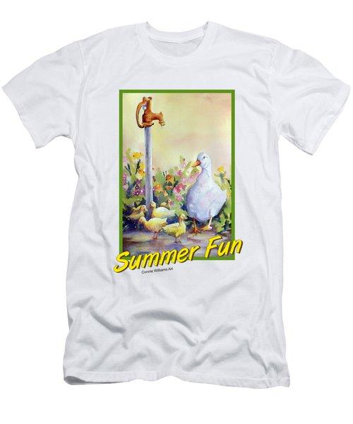 Summer Fun Men's T-Shirt (Athletic Fit)
