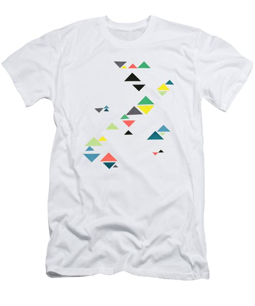 Triangles Men's T-Shirt (Athletic Fit)