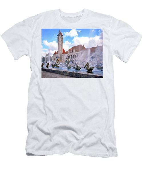 Union Station - St Louis Men's T-Shirt (Athletic Fit)