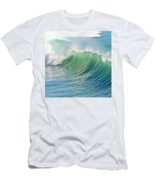 Men's T-Shirt (Athletic Fit) featuring the photograph Waves by Marianna Mills