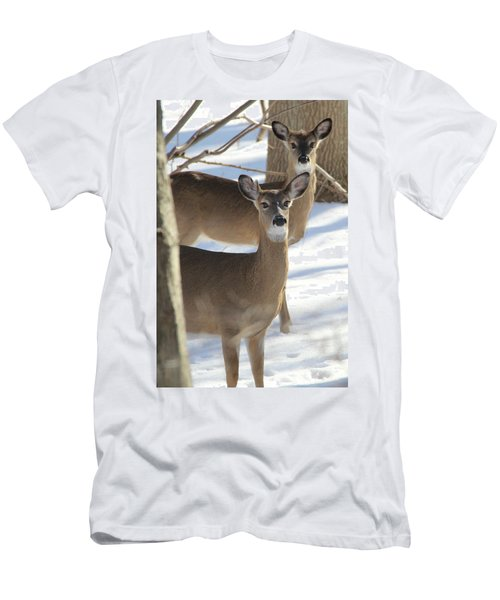 White Tailed Deer Smithtown New York Men's T-Shirt (Athletic Fit)