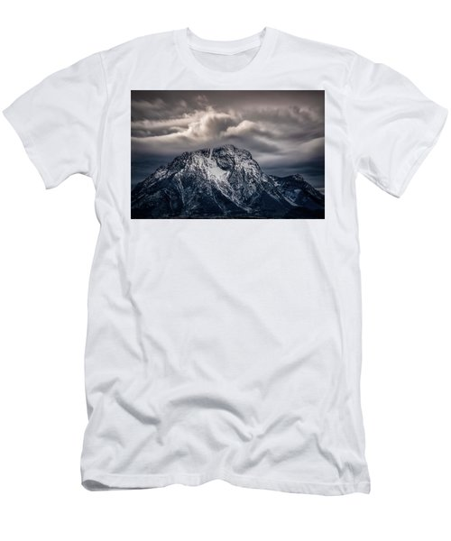 Winter Warning Men's T-Shirt (Athletic Fit)