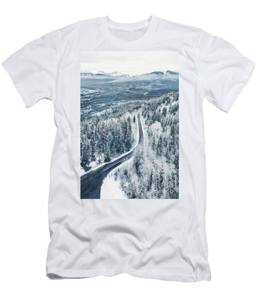 Winter's Way Men's T-Shirt (Athletic Fit)