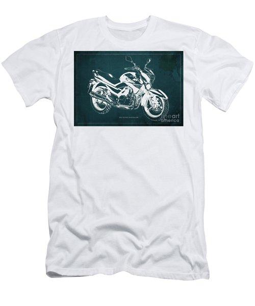 2012 Suzuki Inazuma 250 Blueprint Men's T-Shirt (Athletic Fit)