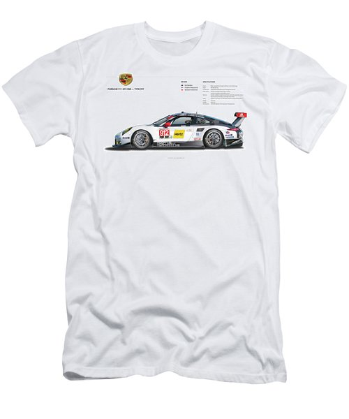 2016 911gt3r Rsr Poster Men's T-Shirt (Athletic Fit)