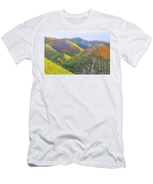 2017 California Super Bloom Men's T-Shirt (Slim Fit) by Marc Crumpler