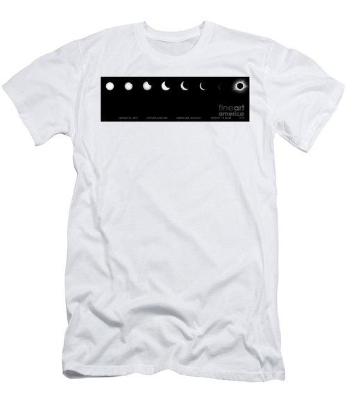2017 Solar Eclipse Men's T-Shirt (Athletic Fit)