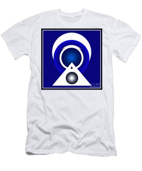 2018 Blue Men's T-Shirt (Slim Fit) by John Krakora