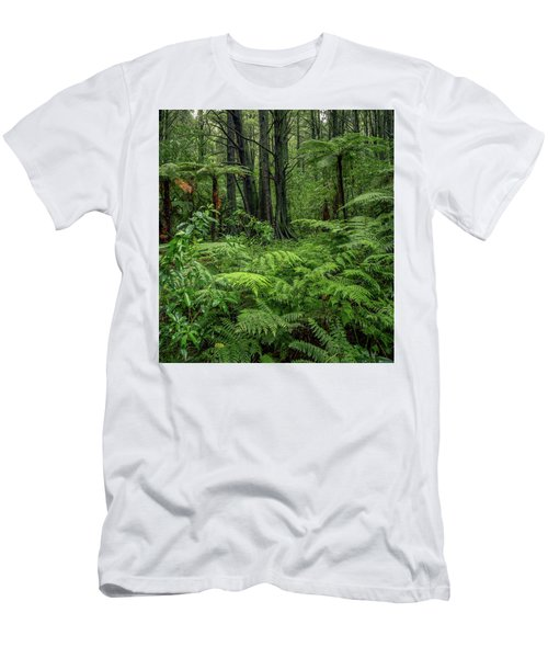 Men's T-Shirt (Slim Fit) featuring the photograph Jungle by Les Cunliffe