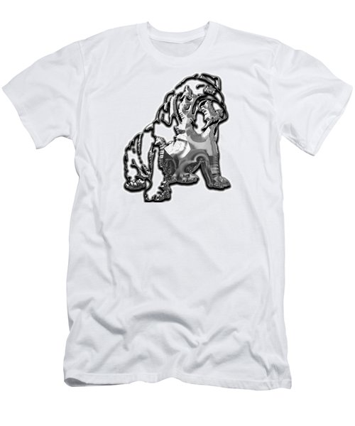 English Bulldog Collection Men's T-Shirt (Slim Fit) by Marvin Blaine