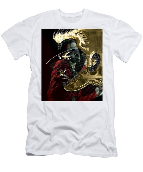 George Michael Collection Men's T-Shirt (Slim Fit) by Marvin Blaine