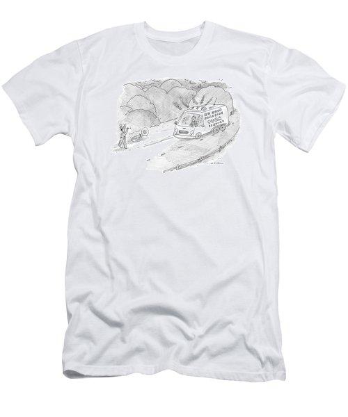 24 Hour Roadside Tuba Service Men's T-Shirt (Athletic Fit)