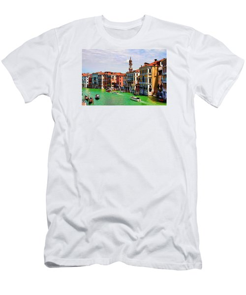 Venice - Untitled Men's T-Shirt (Slim Fit) by Brian Davis